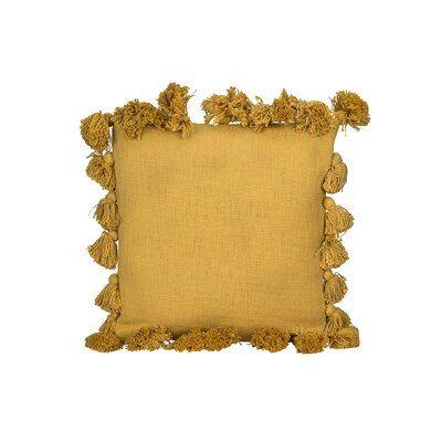 Luxurious Cotton Throw Pillow