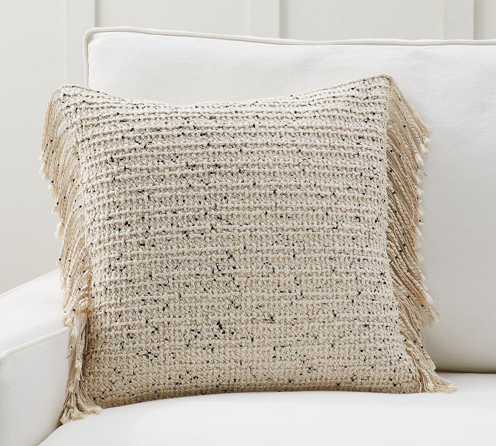 "Nova Pillow Cover, 20 x 20"", Bisque20"