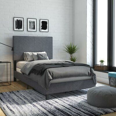 Cowell Upholstered Panel Bed