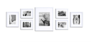 Gallery Perfect Ribbed 7 Piece Picture Frame