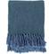 Trina Blue Throw Blanket