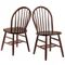 Lutherville Solid Wood Slat Back Side Chair