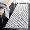 Garica Geometric Ivory/Gray Area Rug