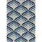 Dania Geometric Blue/Ivory Area Rug