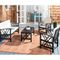 Moriah 4 Piece Sofa Seating Group with Cushions