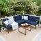 Lavada 5 Piece Sectional Seating Group with Cushions