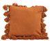 "Neva Pillow, 18""x 18"", Orange"