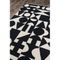 Bova Handwoven Wool Black/White Area Rug