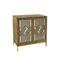 Kaysen 2 Door Mirrored Accent Cabinet