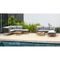 Olinda 8 Piece Teak Sectional Seating Group with Cushions