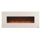 Lauderhill Wall Mounted Electric Fireplace // White