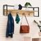 Bassford 4 - Hook Solid Wood Coat Rack with Storage